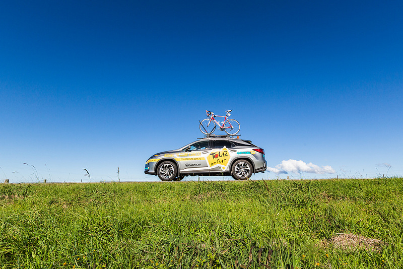 Thanks to Lexus (a major sponsor of Tour de Cure) for giving us these beautiful cars for 10 days.