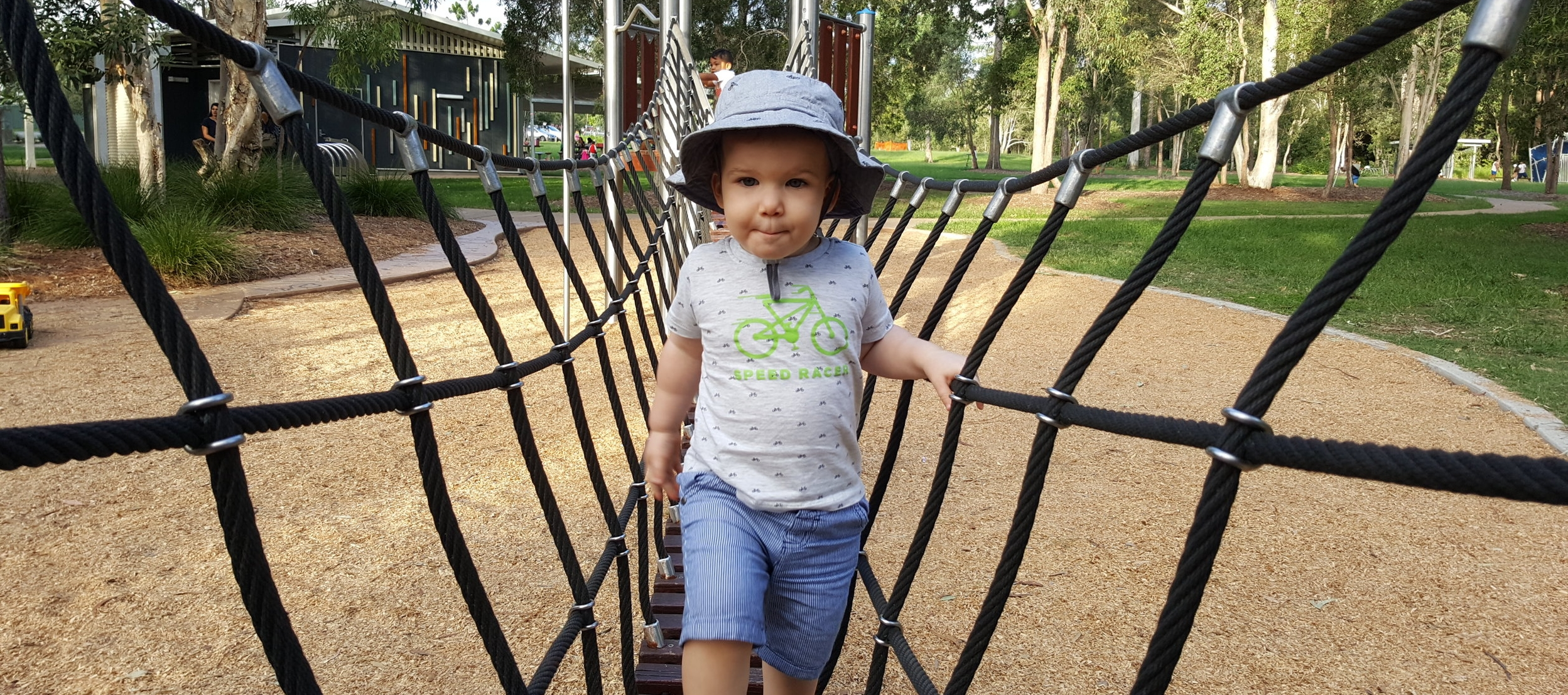 Harvey at the Park - One of his favourite places.