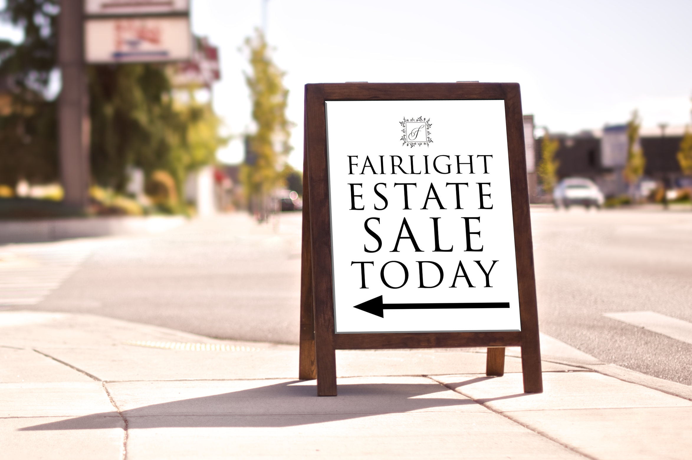 Fairlight-Estate-Sale-Custom-Sign