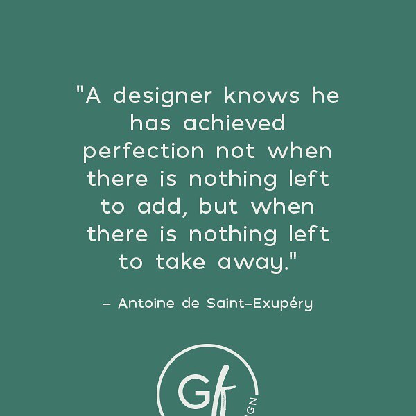 Good design only looks like it was effortless.  What you don't see is the amount of thought, time, and trial and error that it takes to get to the end. ⠀⠀⠀⠀⠀⠀⠀⠀⠀ Also, anyone grow up reading #theLittlePrince? The message is eternal and the illustrations are perfection 👌🏼 ⠀⠀⠀⠀⠀⠀⠀⠀⠀ #gingerfreshdesign #gingerfresh #webdesign #design #graphicdesign #website #marketing #coloradodesign #intentionaldesign #squarespacewebsite #squarespace #squarespacecircle #womenindesign #womenentrepreneurs #womeninbiz #fortcollins #fortcollinsdesign #blushsociety #girlboss