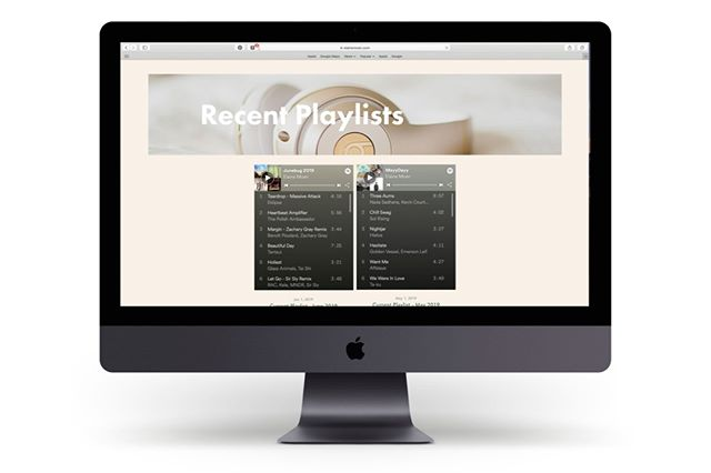 I love how easy @Squarespace makes it to integrate different social media platforms. Whether its a grid of your instagram feed, facebook events, or even Spotify playlists - we can easily embed functional code on your site so visitors can connect with you across platforms. Check out the recent @Spotify playlist @elaineinthecity the shared on her blog for some summer vibes. ⠀⠀⠀⠀⠀⠀⠀⠀⠀ ⠀⠀⠀⠀⠀⠀⠀⠀⠀ #gingerfreshdesign #gingerfresh #webdesign #design #graphicdesign #website #marketing #coloradodesign #intentionaldesign #squarespacewebsite #squarespace #squarespacecircle #womenindesign #womenentrepreneurs #womeninbiz #fortcollins #fortcollinsdesign #blushsociety #girlboss #spotifyplaylist