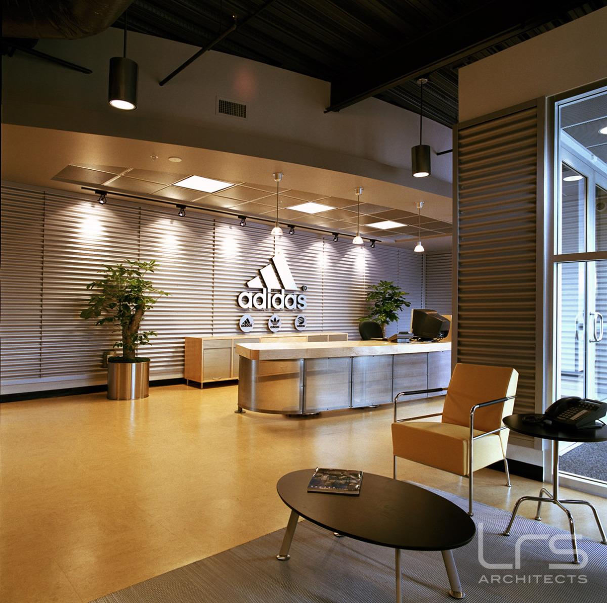 Corporate Interior Projects :: adidas lobby interior