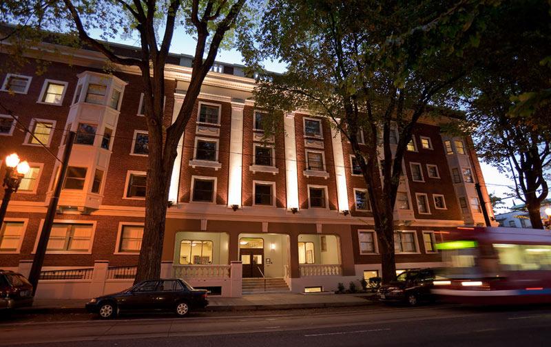 Housing Projects :: Martha Washington at night