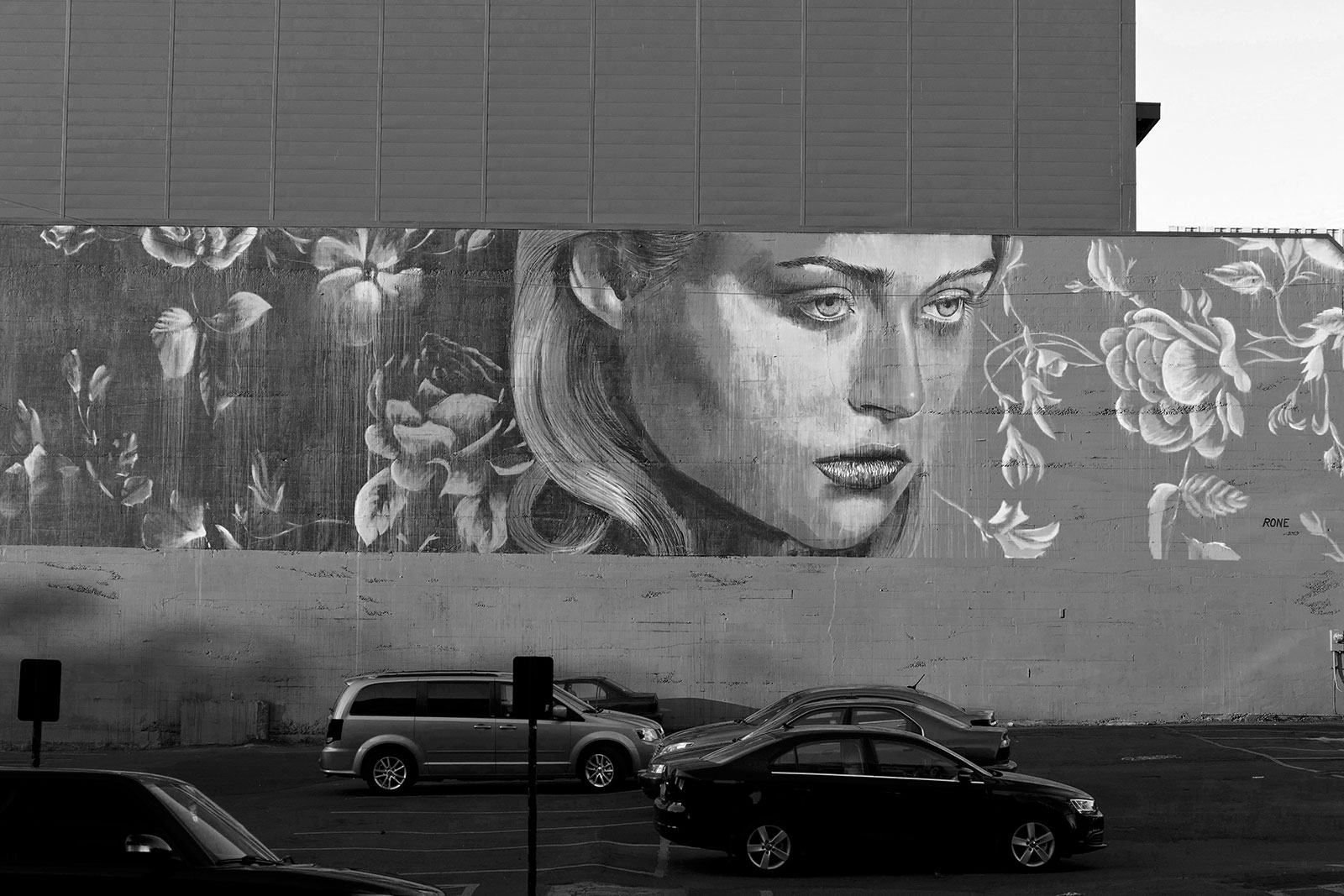 2013 Mural by Rone courtesy of Forest for the Trees