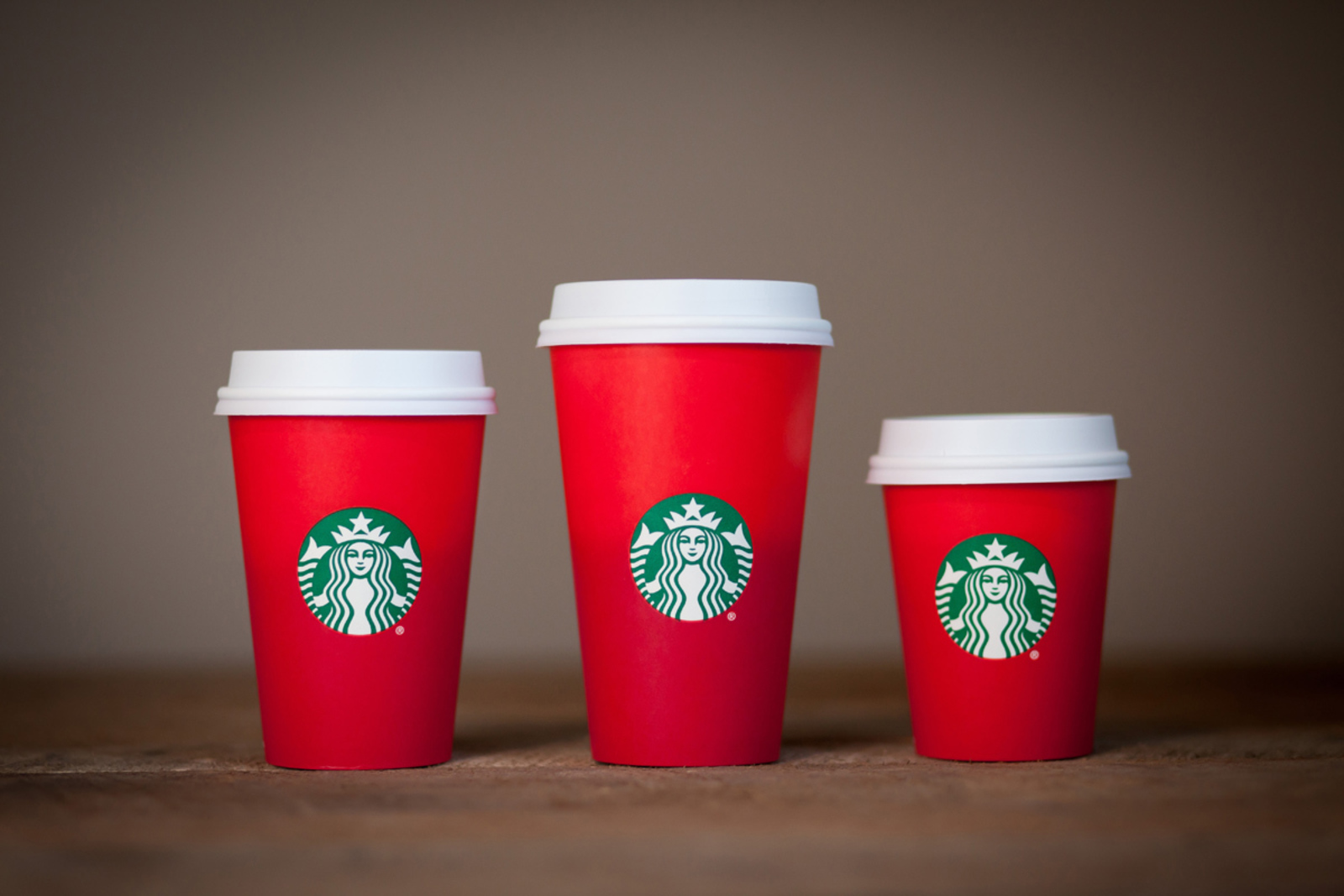 Picture of Starbucks holiday cups