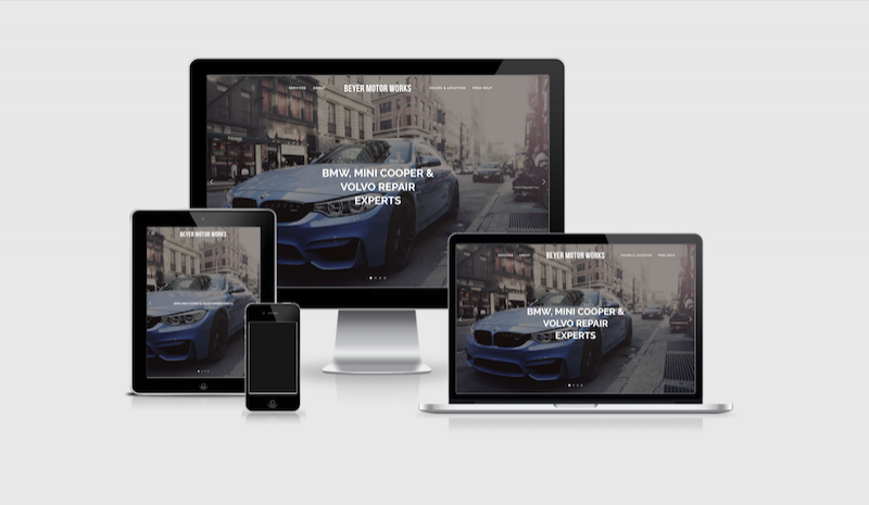 Click to see the Beyer Motor Works website.