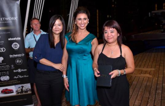 CARLA sponsored the TOPluxury business card draw prize worth S$ 6,800
