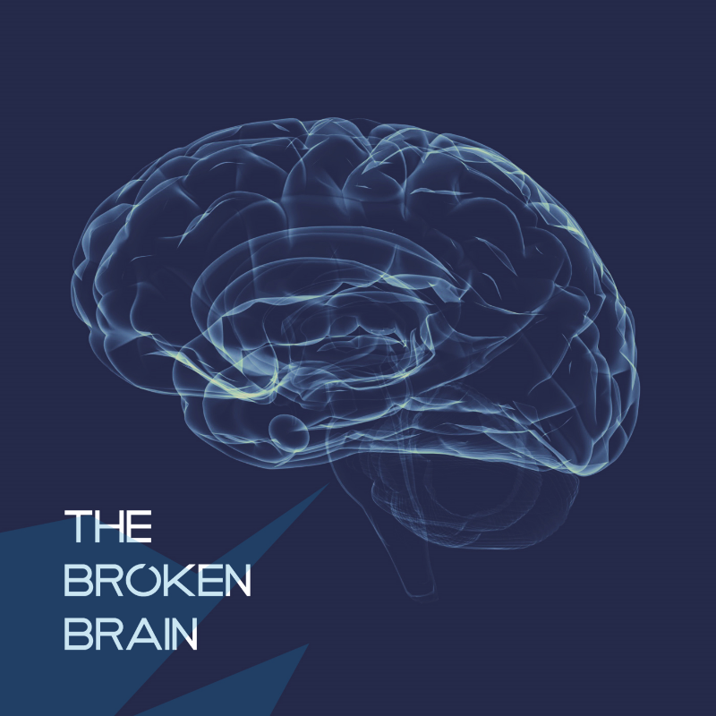 The Broken Brain  Logo is designed by Michael Shirley:  ihatemichaelshirley.com