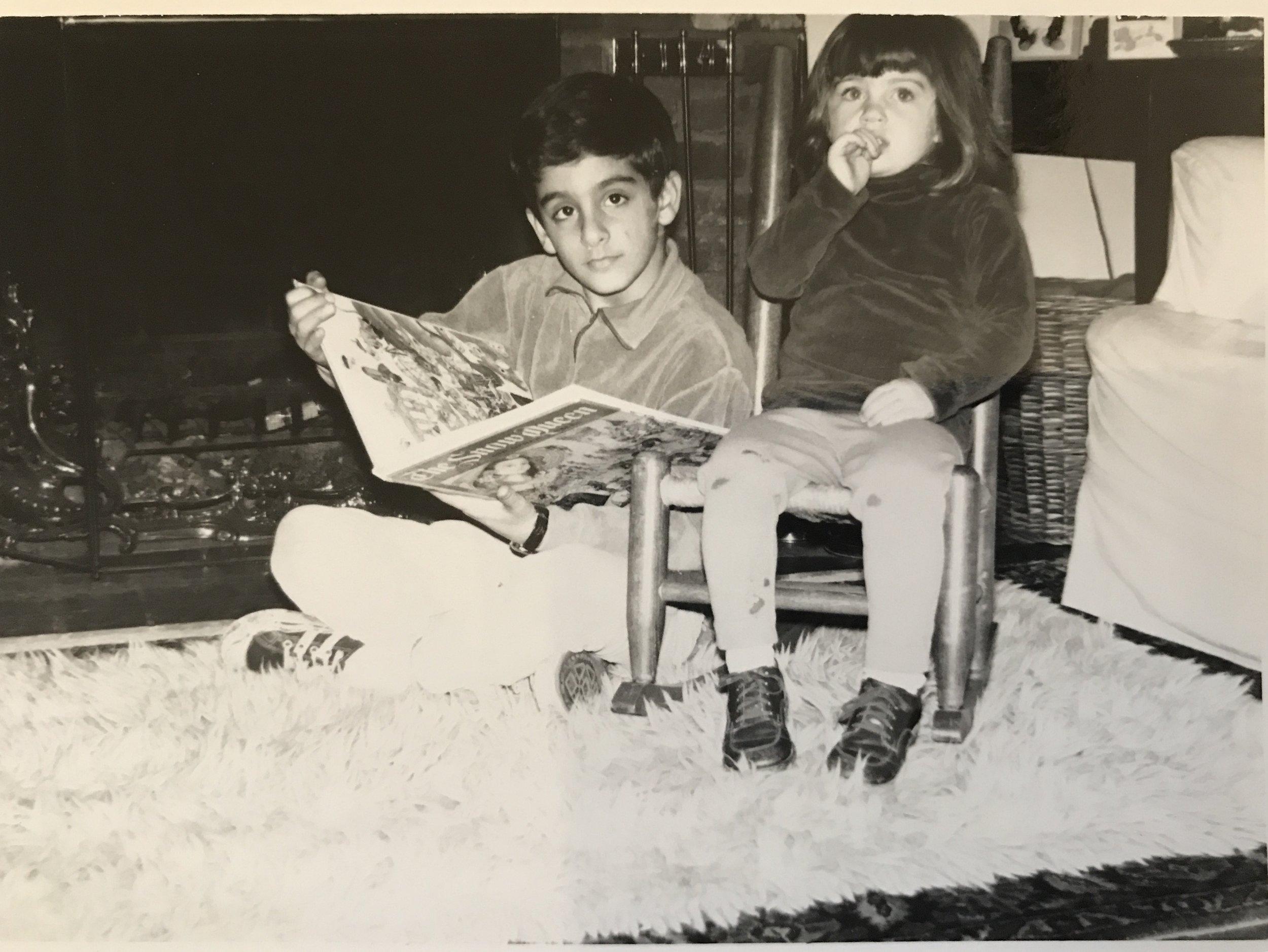 Happier times before my parent's divorce