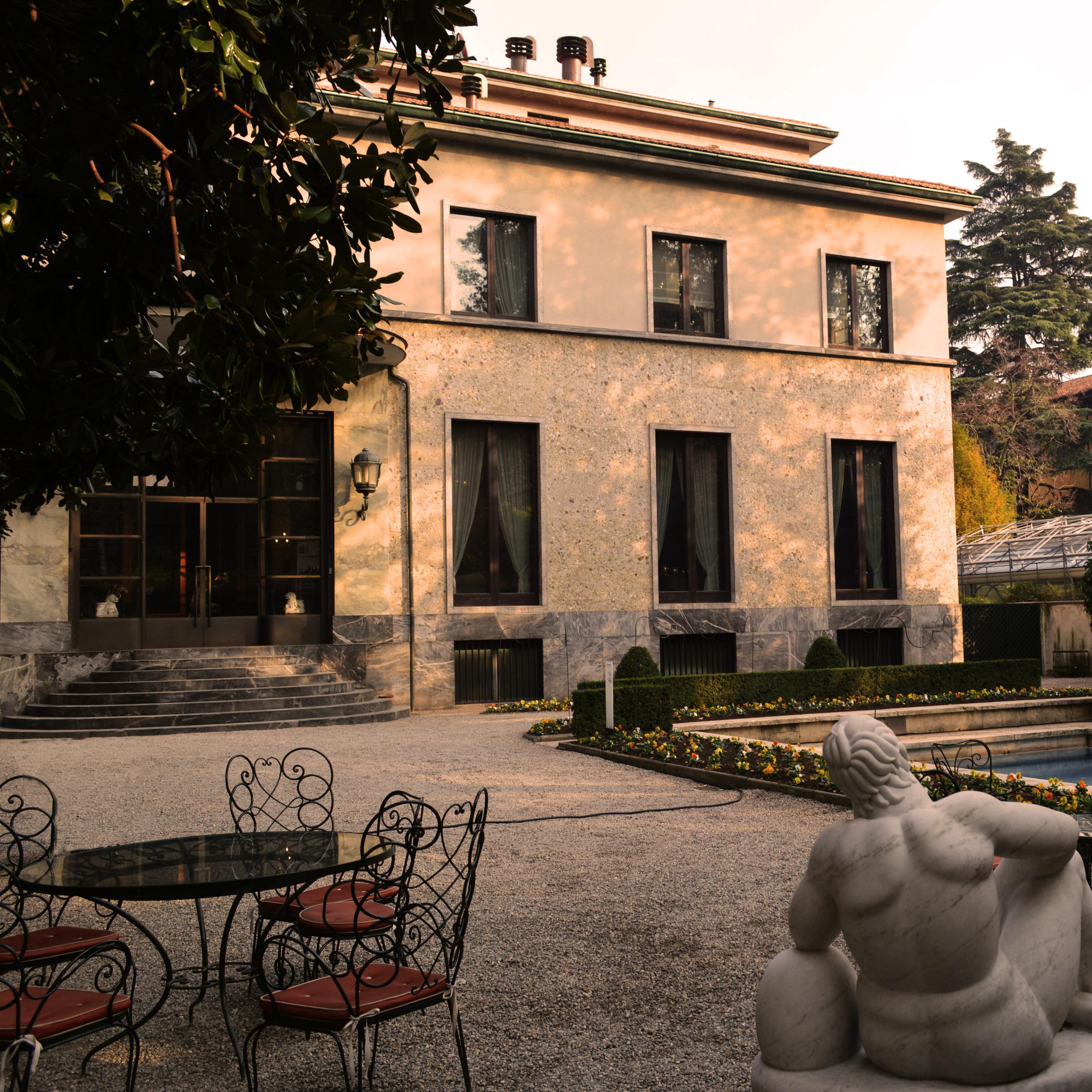 Villa Necchi Campiglio in Milan is an architectural gem by Piero Portaluppi.