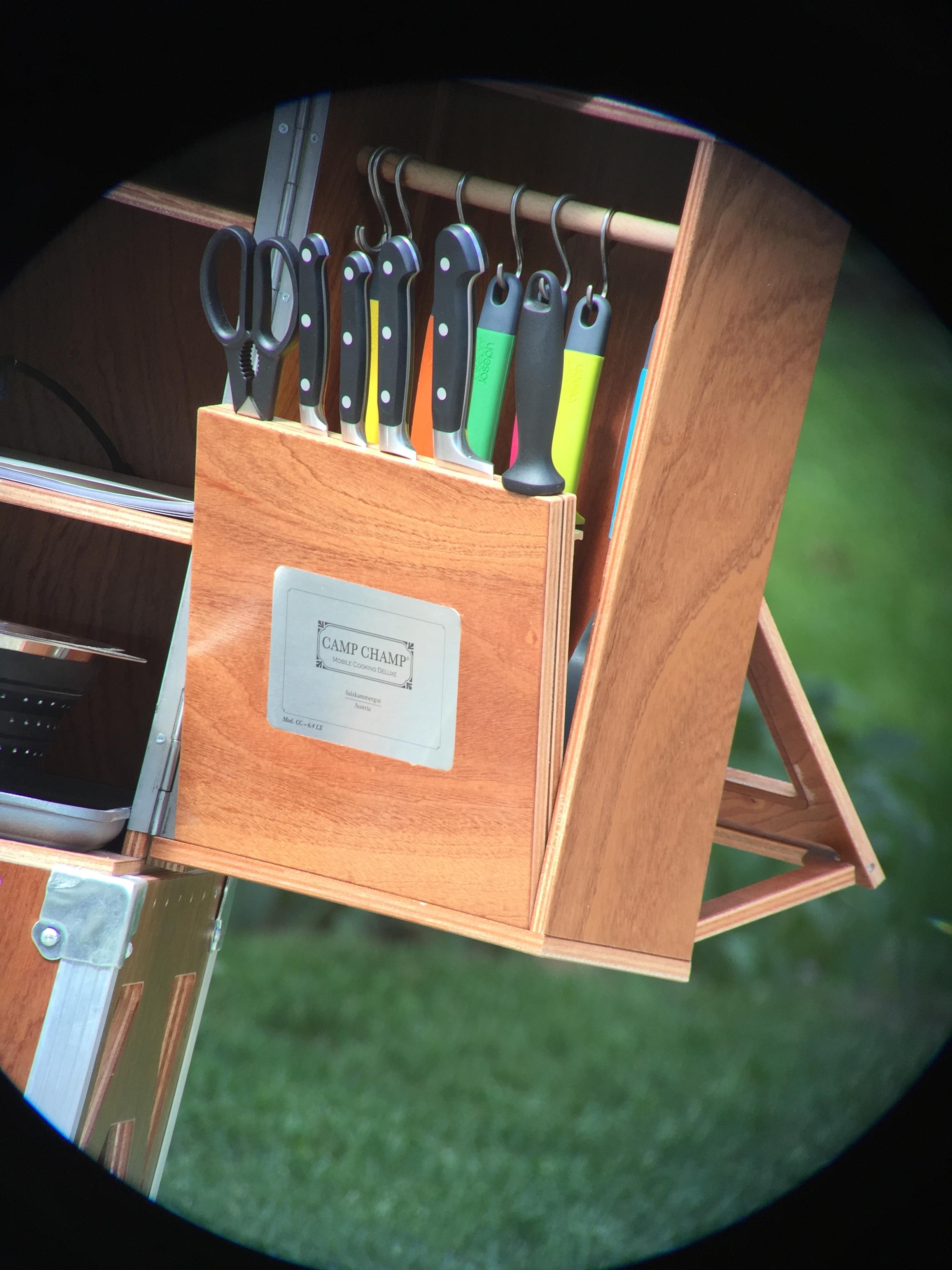 Camp Champ outdoor kitchen Digiscoping by Georg Œhler via Swarovski Optik ATX