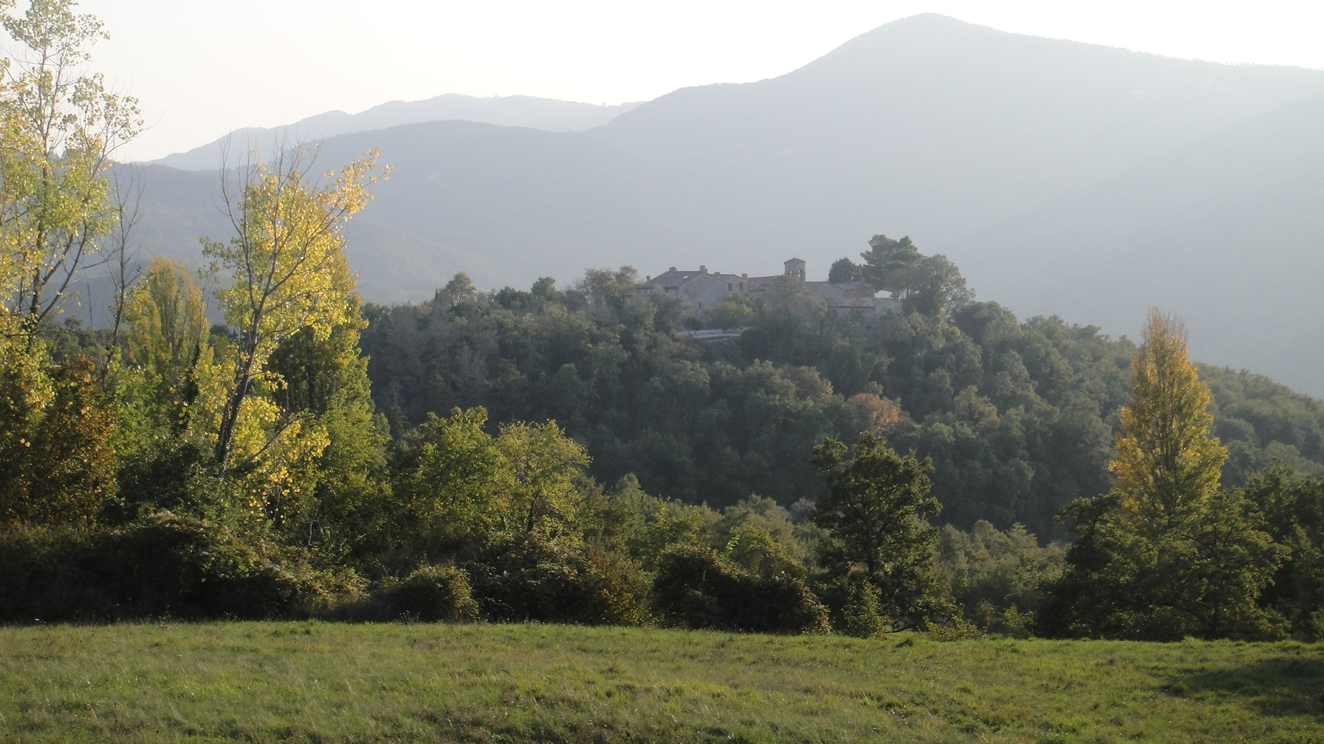 The Arthouse, located within an ancient hilltop castle in rural Umbria