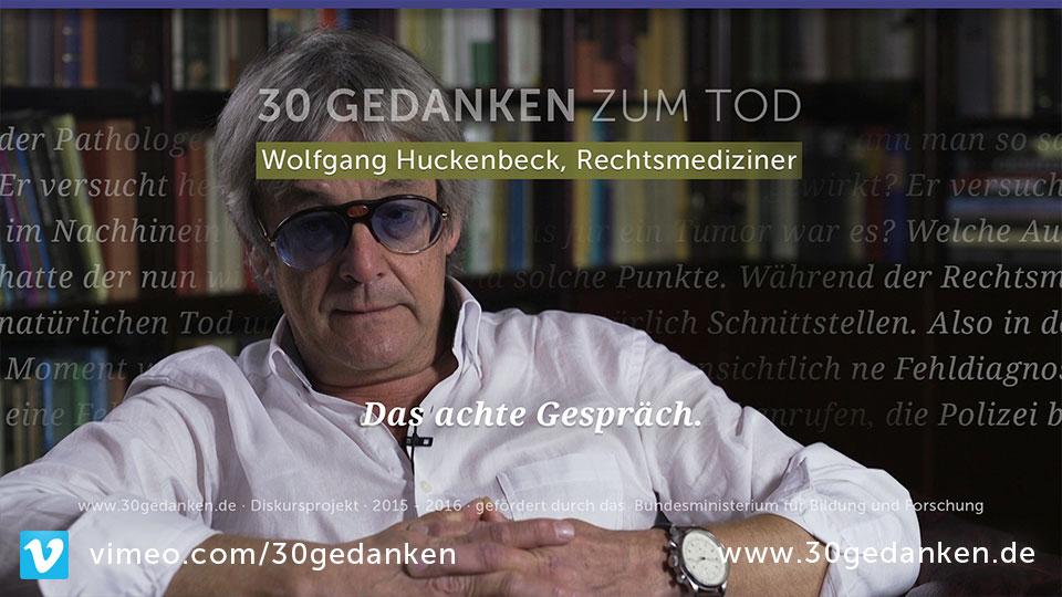 Prof. Dr. Wolfgang Huckenbeck, 61, Rechtsmediziner