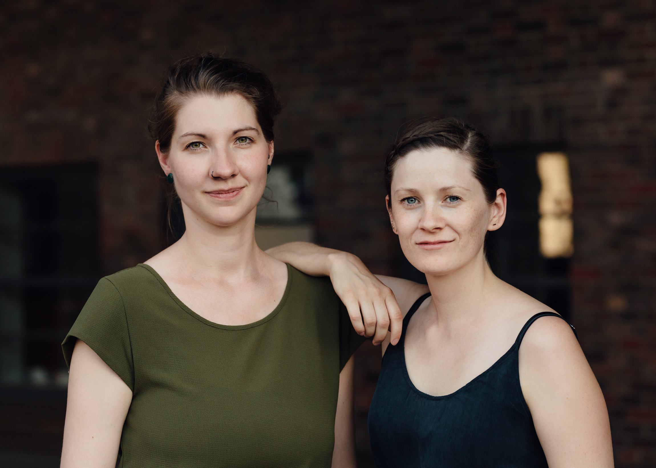 Maren Heyn und Wiebke Becker  Foto: Matthias Oertel