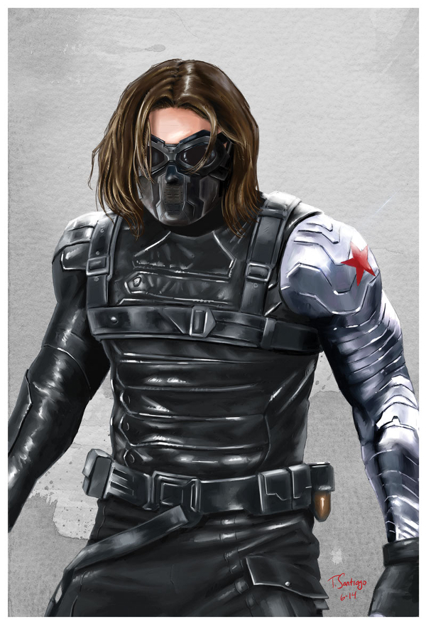 winter soldier tony santiago art winter soldier tony santiago art