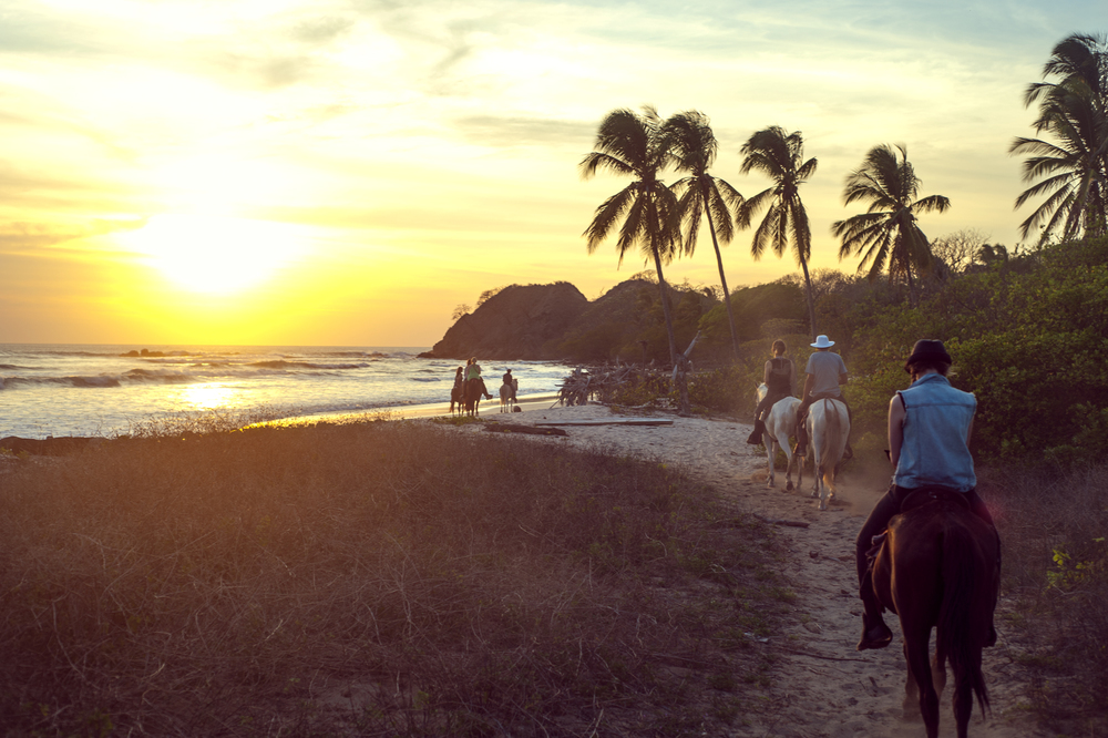 Add-on adventures like horseback riding are optional but highly encouraged! After you've registered, you can book them with Blue Spirit or wait until you arrive and go where you're called.