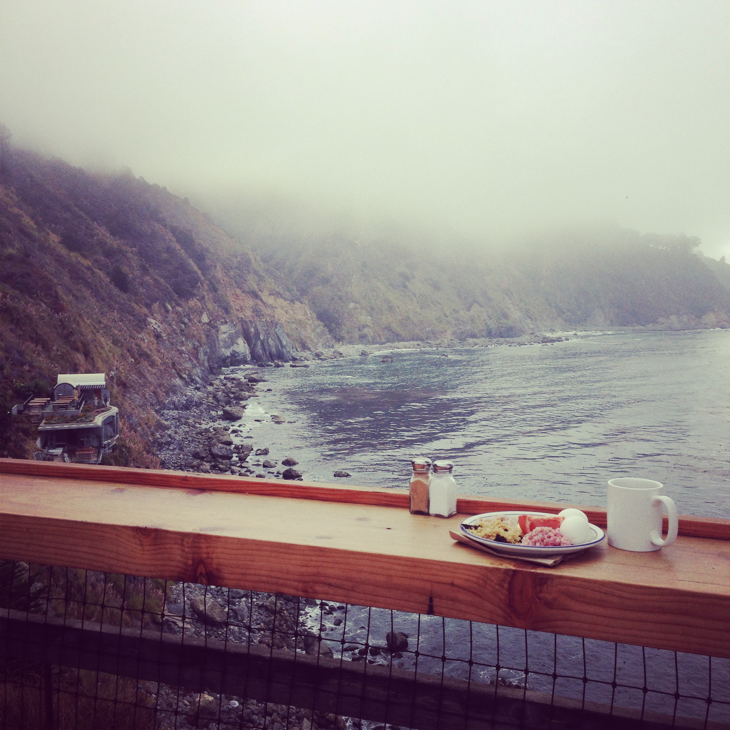 Rochelle's most beloved Sanctuary, Esalen Institute in Big Sur, California.
