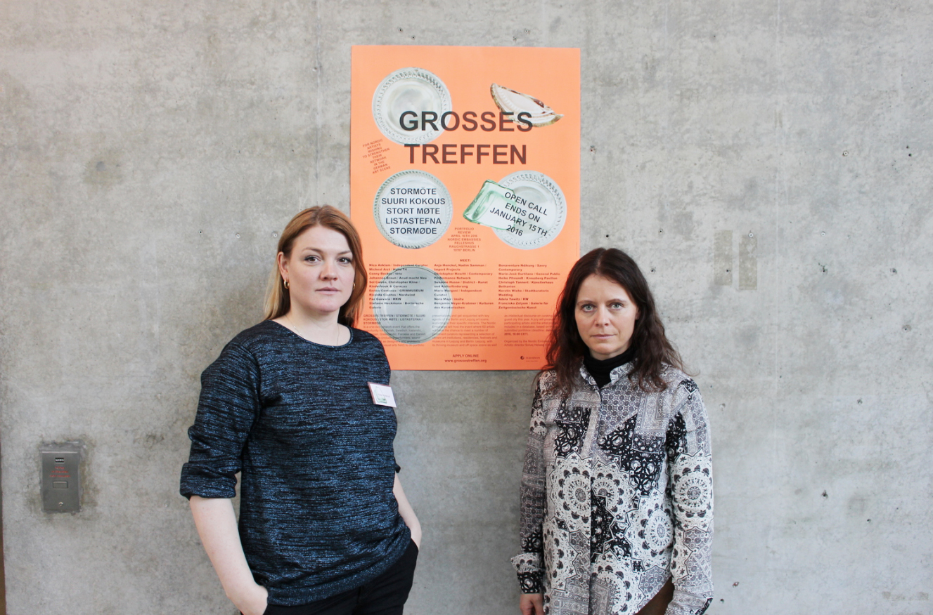 Toft Honerud at Grosses Treffen, Berlin. Click on the image for a link to a short interview.