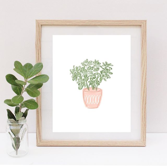 "🌱 House Plant Collection 🌱 is now available for instant digital download on Etsy 🙌🏼 . . . Lack a green thumb like me? No problem! Add greenery that requires zero maintenance 👌🏼 . 8x10"" & 5x7"" available! . . Link in profile! . . #digitalart #digitaldownload #houseplant #homedecor"