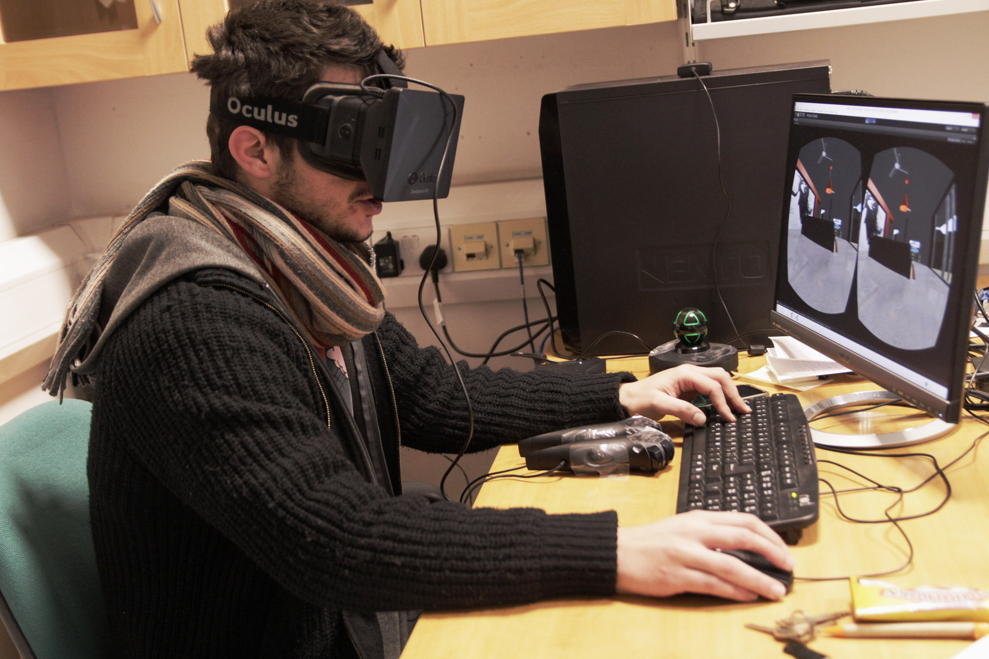 Immersive VR with Head-Mounted-Displays