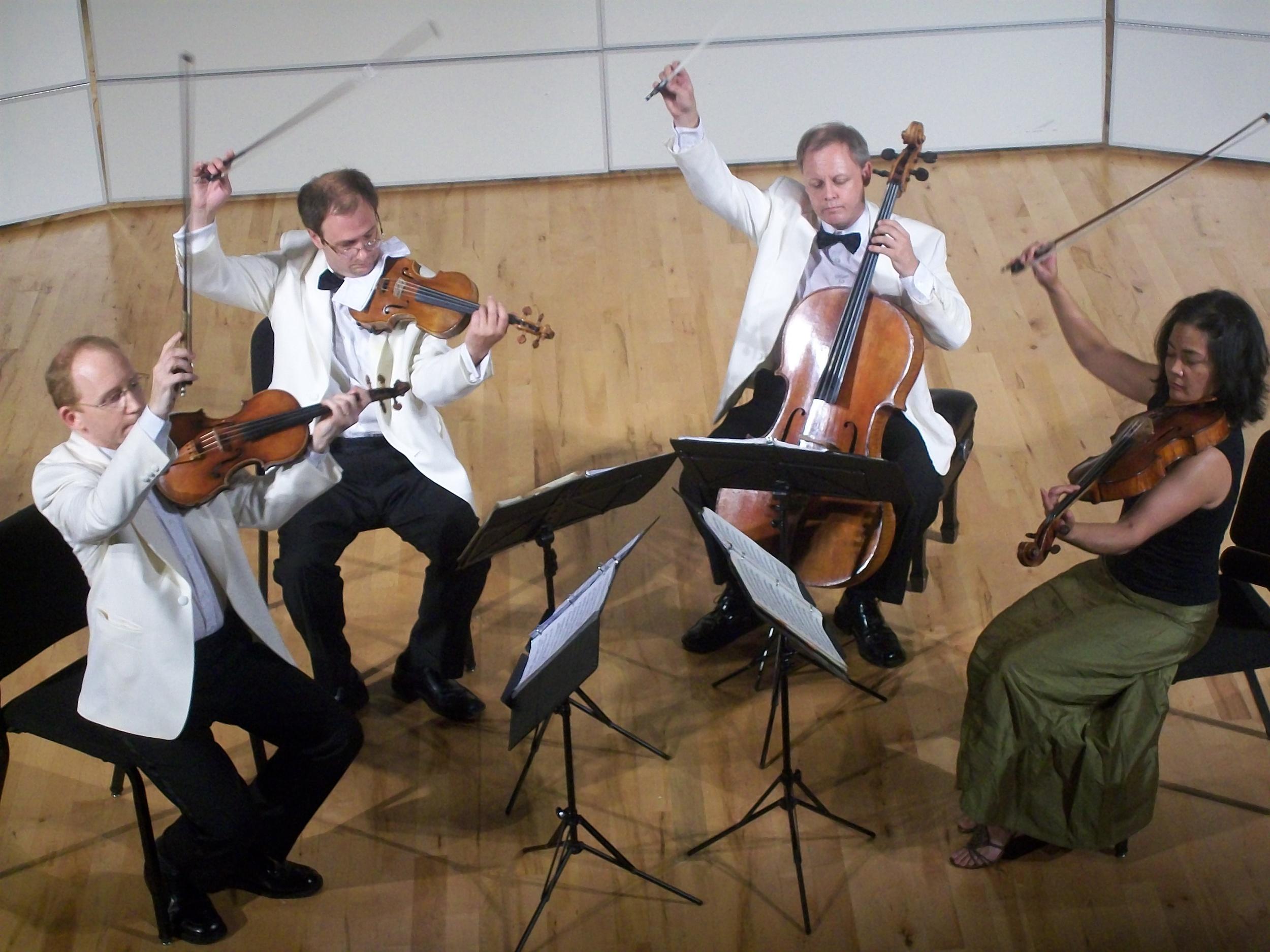 Guest Artists: Arianna String Quartet