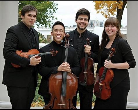 Griffon String Quartet - Each member of the Griffon String Quartet has advanced degrees and significant professional experience, both as teachers and performers. Furthermore, they bring to this residency passion, commitment, and the desire to see their quartet become a cultural cornerstone in the Northeastern Wisconsin area.