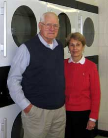 Tom and Marlene Morrical accomplished a major goal with their laundry revenue: they put their four children through college.
