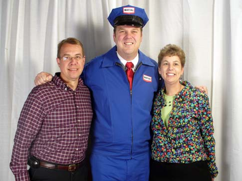 2007 Most Beautiful Laundry Winners (Left to right: Stephen Banko, Clay Jackson & Carol Banko)