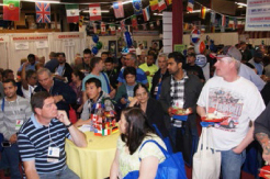 Once again the corporate headquarters of EquipmentMarketers in Cherry Hill, NJ was filled to capacityas they welcomed a record number of gueststo their annual event