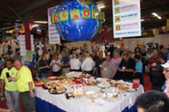 The absolute best luncheon buffet in the industry was enjoyed by the more than 400 attendees during the afternoon. Equipment Marketers provides food and beverages for everyone during the entire day.