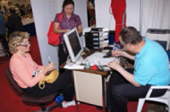 EM clients were able to take advantageof tremendous savings offered duringthe day and complete their transactionsright on the trade show floor