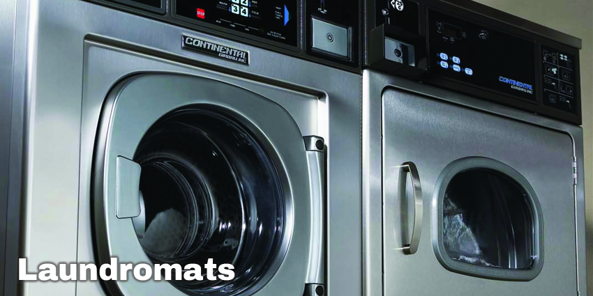 Equipment Marketers - Continental Commercial Laundry Equipment