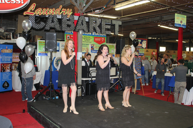 Cabaret singers from the Ritz Theatre Company performed throughout the day.