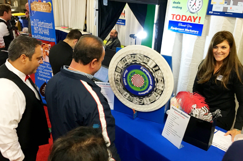 Trade Show attendees spun the 'wheel of furtune' throughout the day to win great prizes.