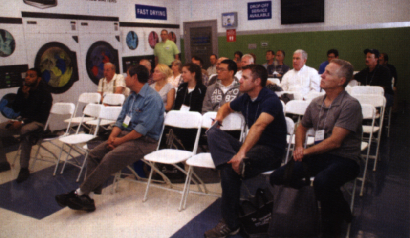 Attendees were able to sit in on a variety of classes throughout the morning and afternoon.