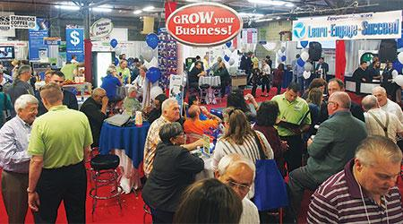 This was the scene at Equipment Marketers, Cherry Hill, N.J., as the commercial laundry distributor opened its doors and welcomed customers to its 24th Annual Commercial Laundry Trade Show.  (Photo: Equipment Marketers)