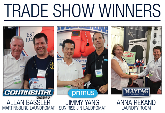 Lucky winners of the Grand Prize washer giveaways!
