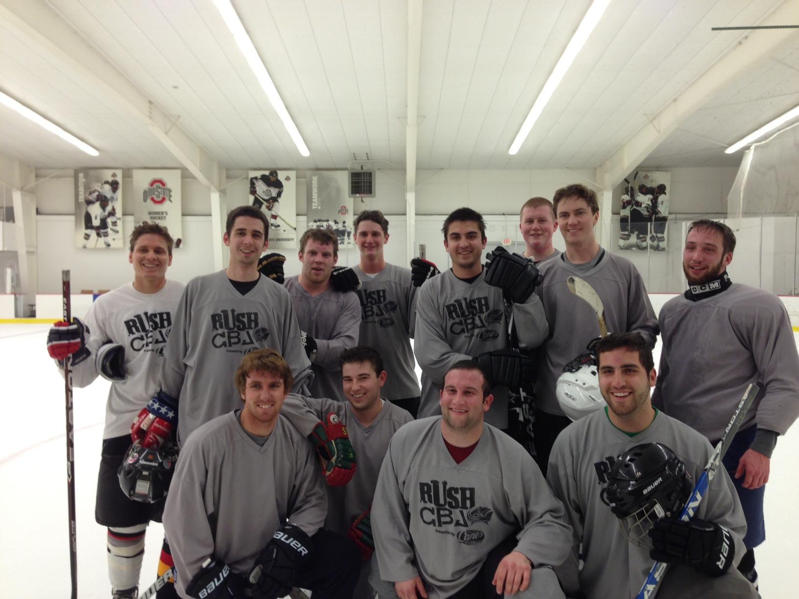 ATΩ's KD slapshot hockey team