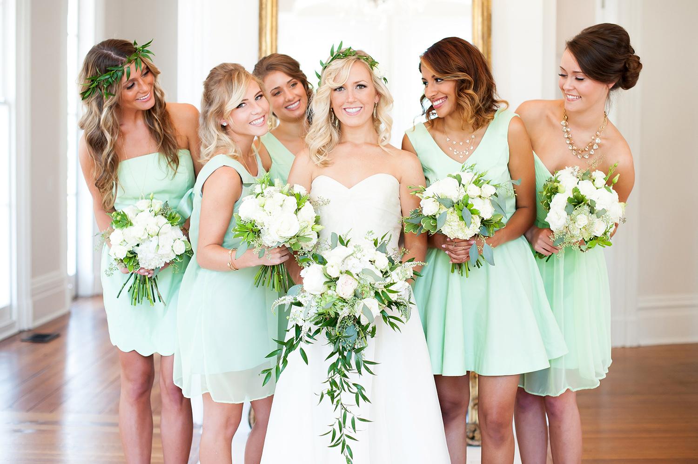 Merrimon Wynne, Wedding Party, Bouquets