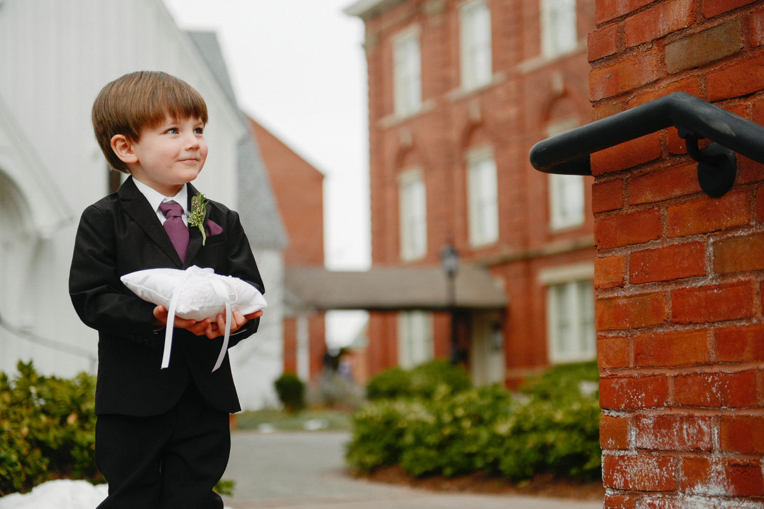 Adorable Ring Bearer Raleigh NC