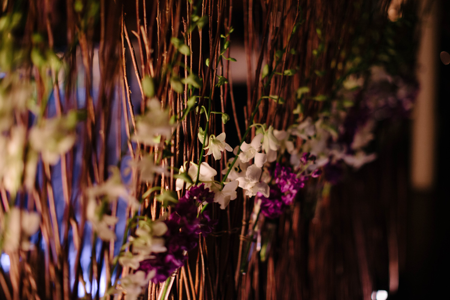 Branch Wedding Divider at Cobblestone Hall