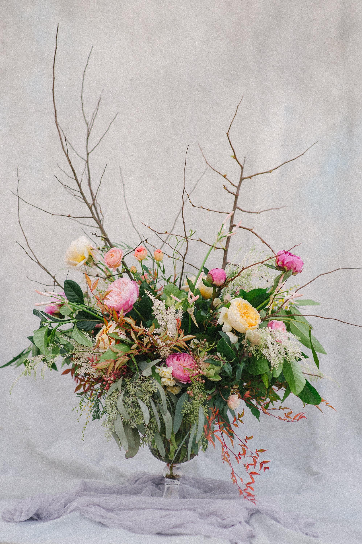 Organic Arrangement, Buffet Table Flowers, Florabundnace Design Days