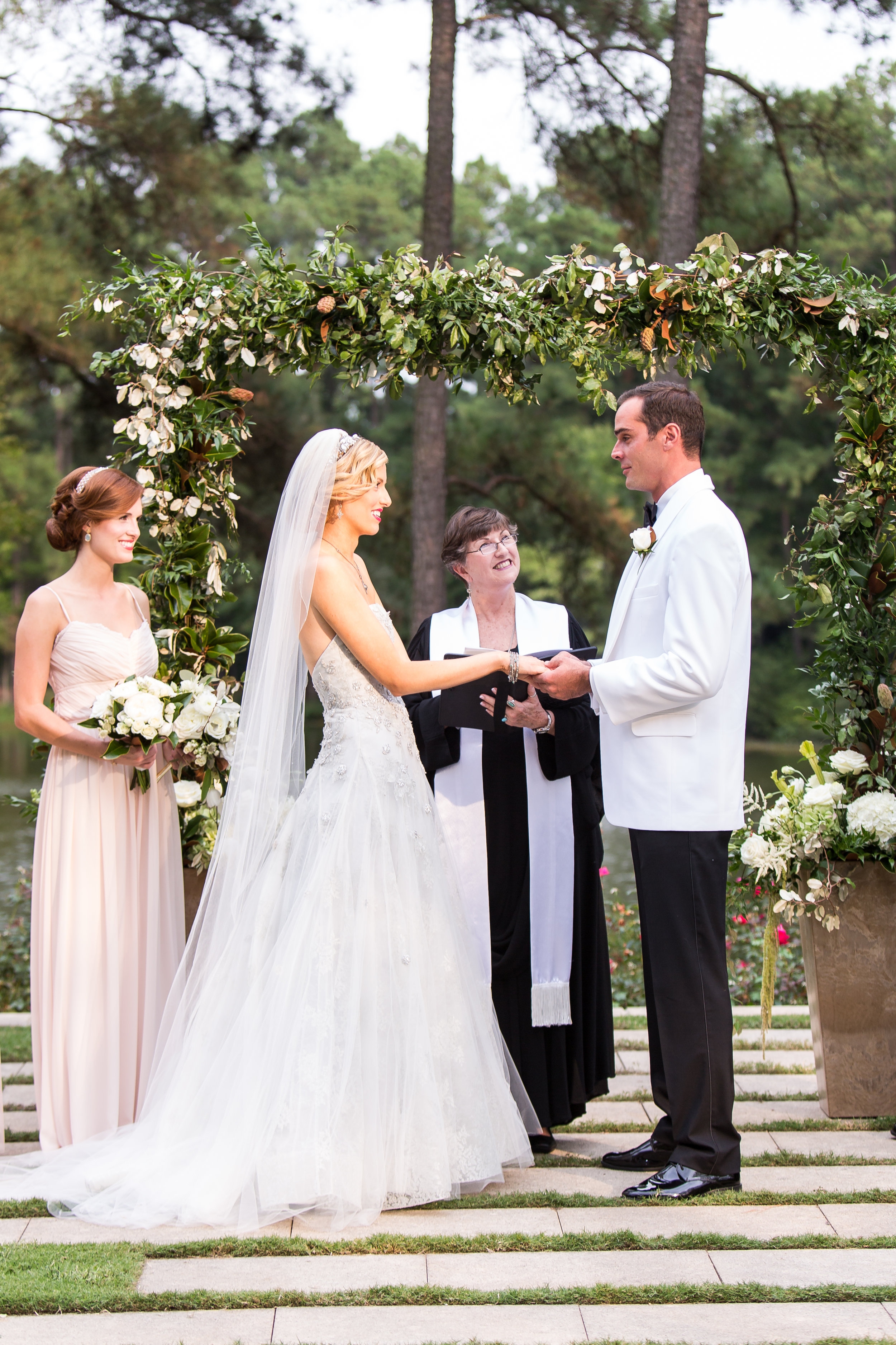 Ceremony Arch, Wedding Backdrop, Umstead Wedding, Classic Southern Style