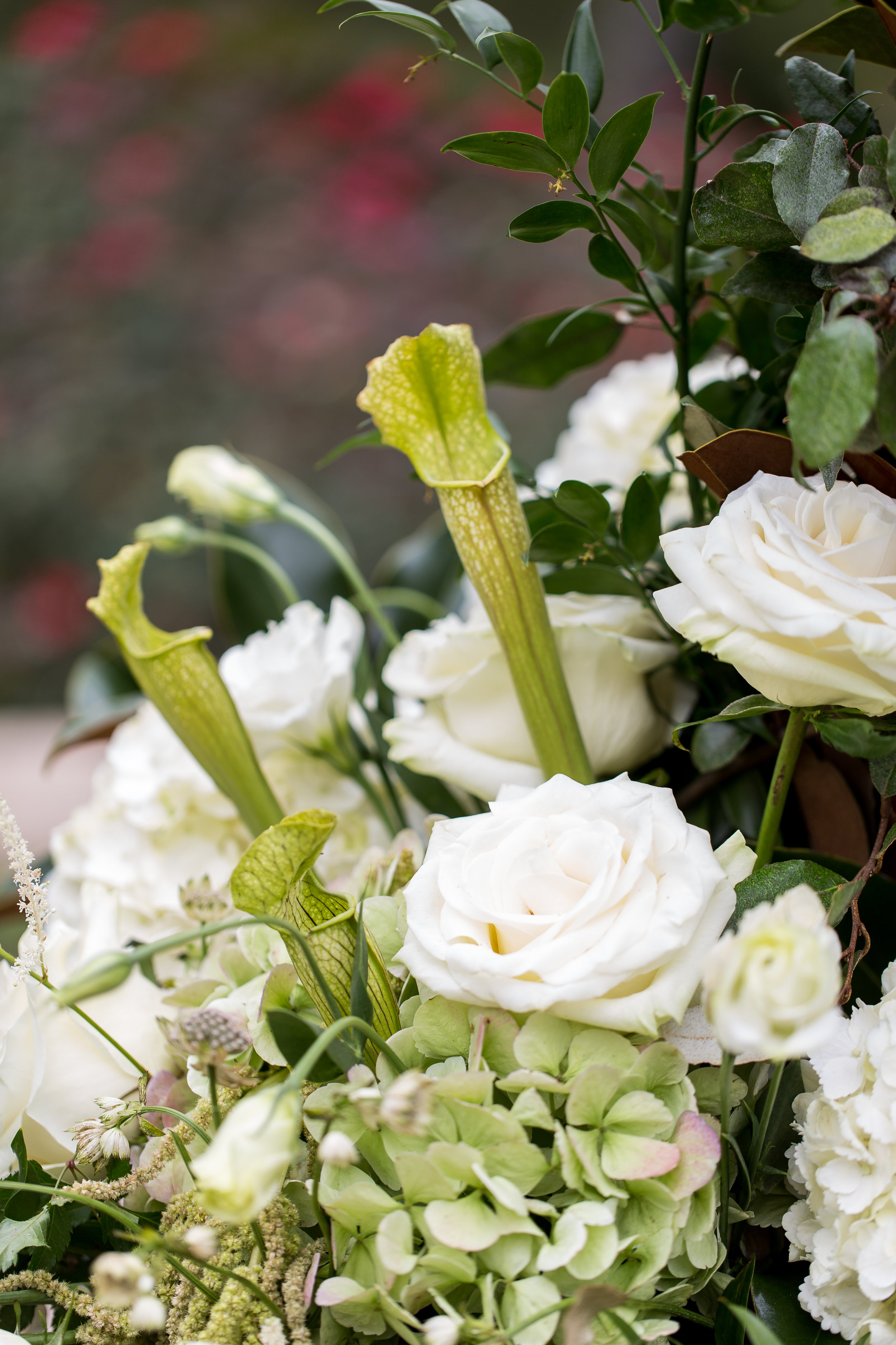 Altar Flowers, Umstead Wedding