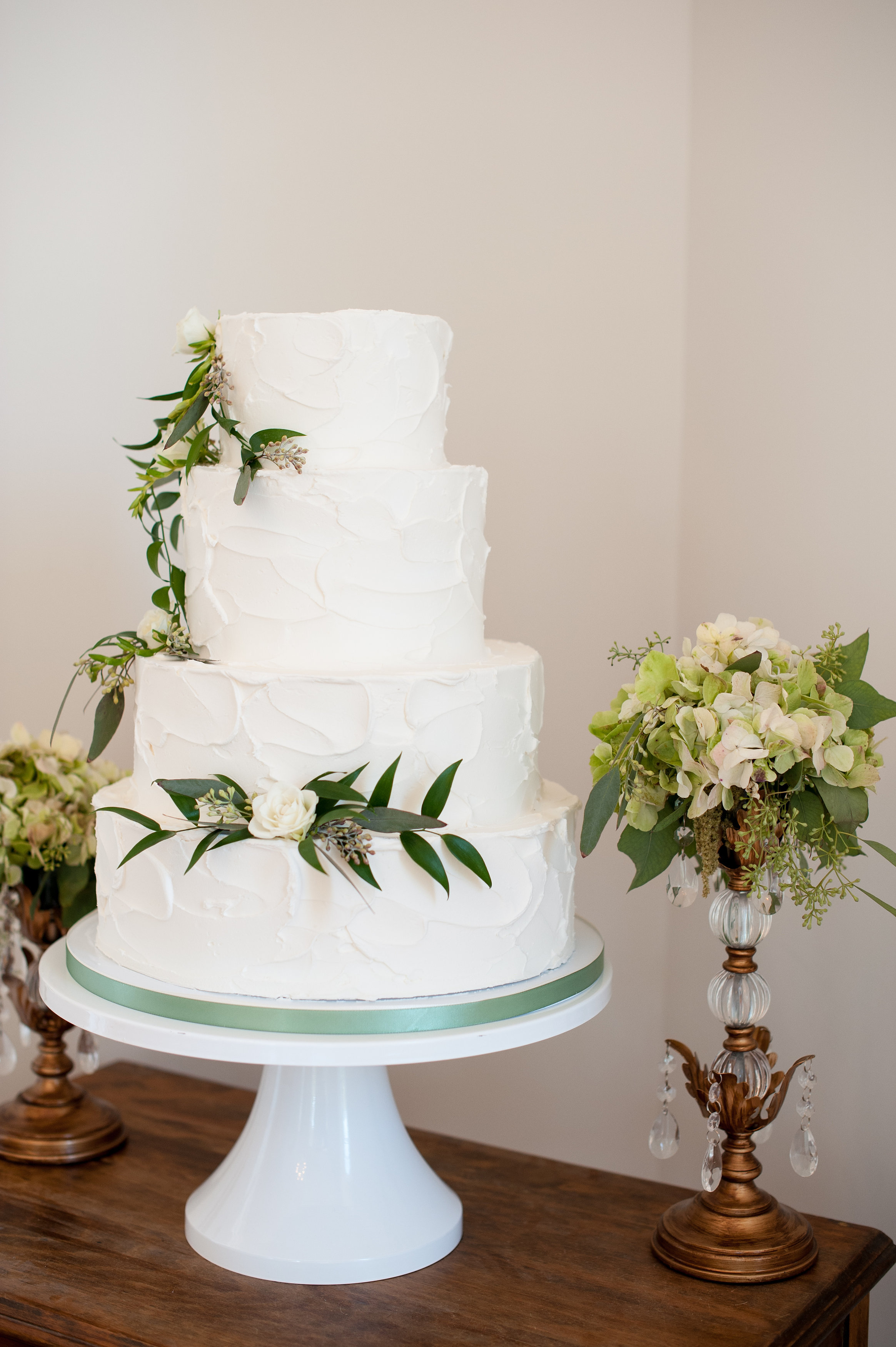 Cake Flowers, Merrimon Wynne Wedding