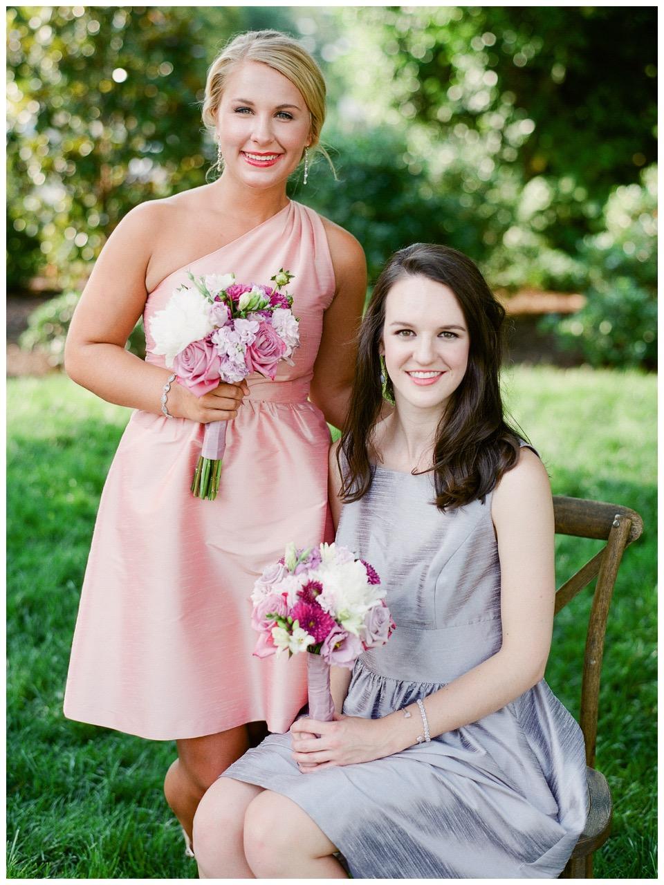 Bridesmaids Bouquets Merrimon Wynne