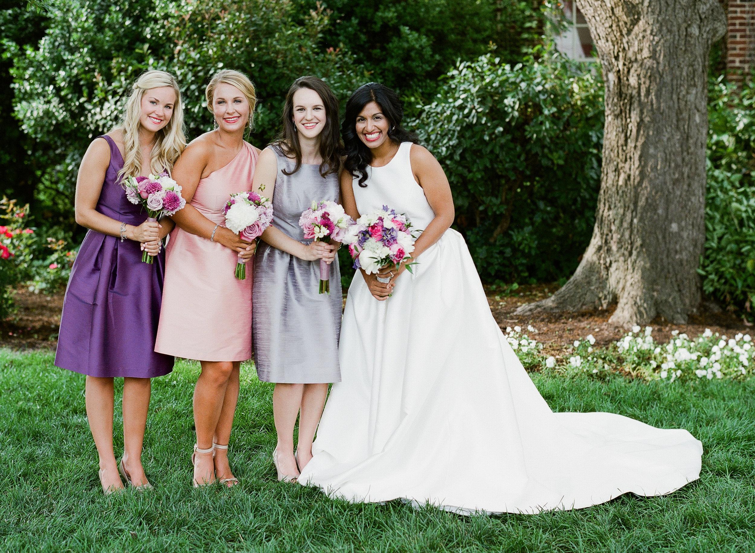 Bride and Bridesmaids, Merrimon Wynne