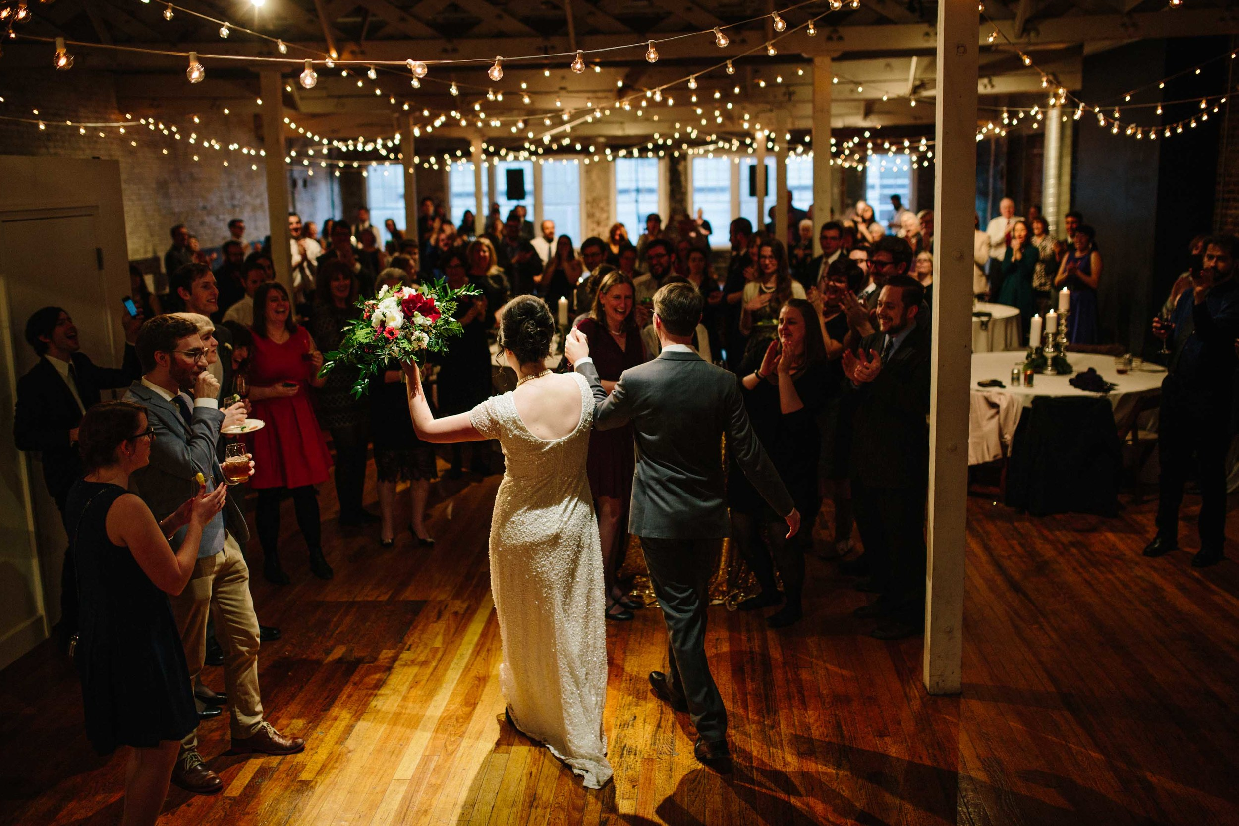 The Stockroom, Wedding Reception, Eclectic Sage