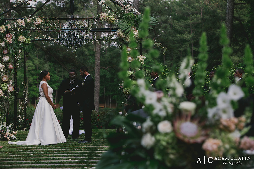 Umstead Hotel Wedding Ceremony on the lawn