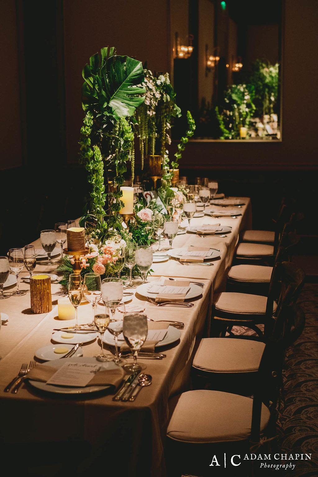Umstead Hotel Ballroom Reception
